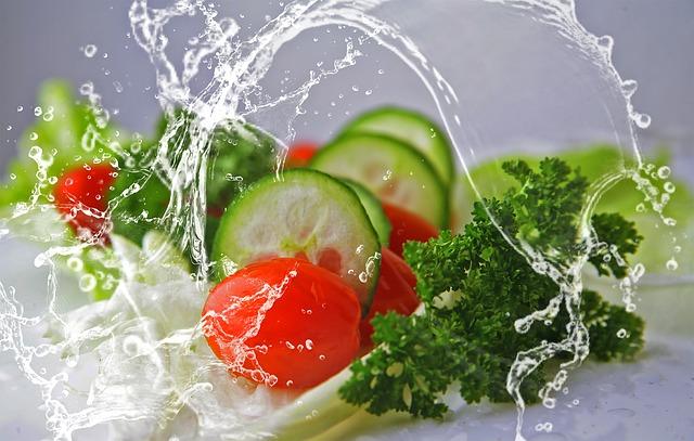 voda u zeleniny