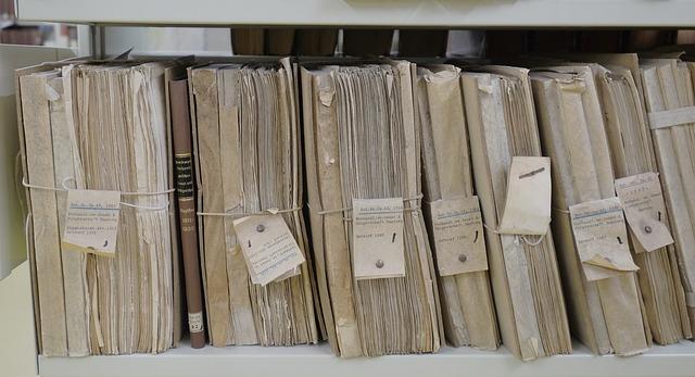 skladování papírů