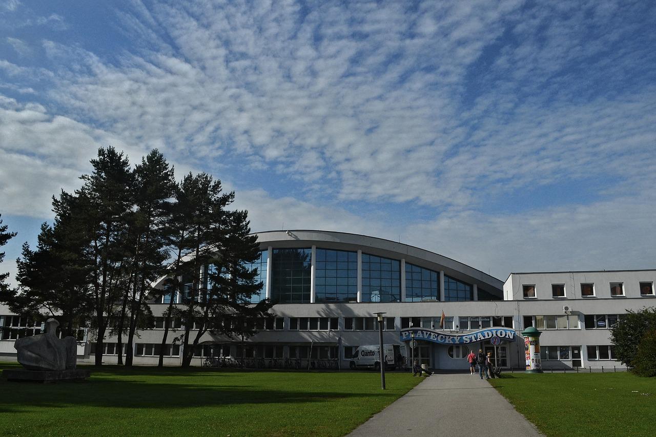 plaveský stadion v Českých Budějovicích